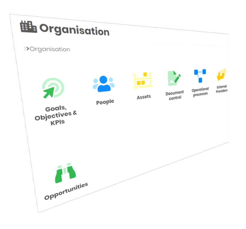 Control multi-site organisations