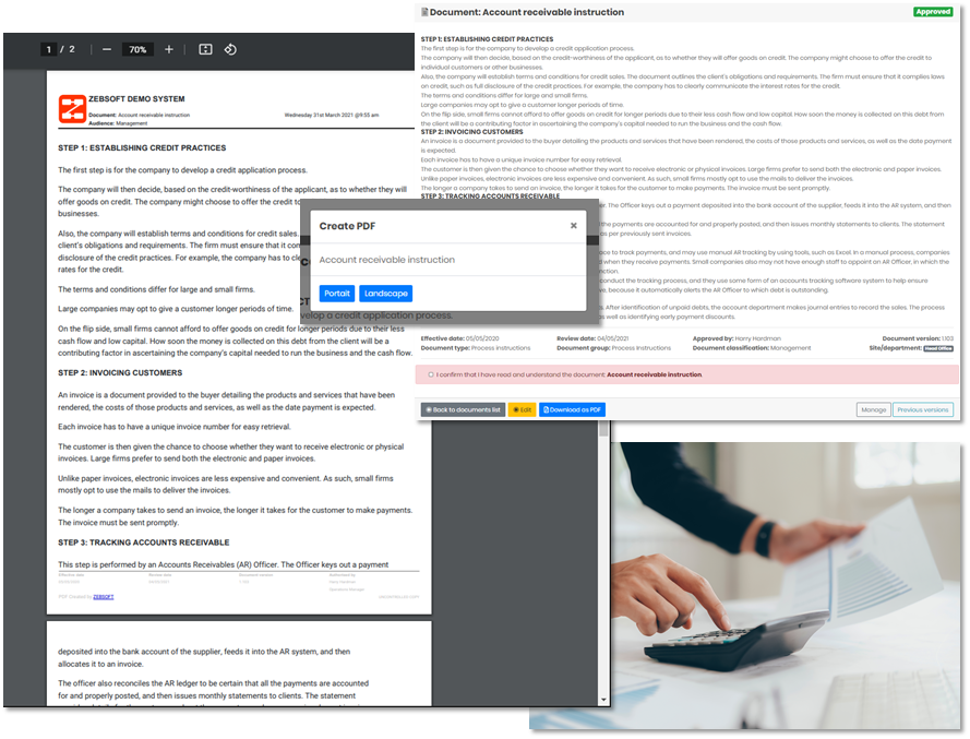 Document Control | Controlling and creating uncontrolled document